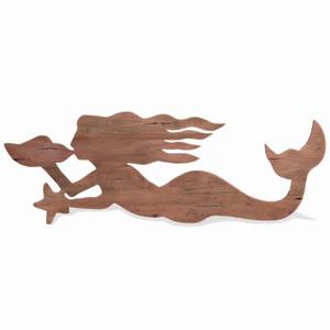 Mermaid - Size: 46H x 130W x 3D (cm) - DRW