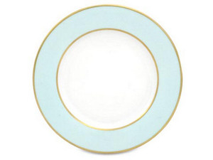 Limoges Legle Side/Cake Plate - Pastel Blue