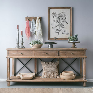 Aix 3 Drawer Console Table by Maison Living
