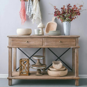 Aix 2 Drawer Console Table by Maison Living