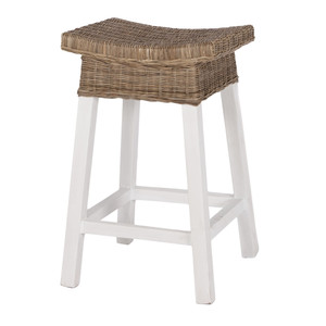 Hamptons Rattan Counter Stool