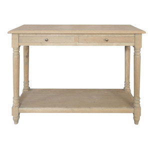 Remy Console Table - Weathered Oak