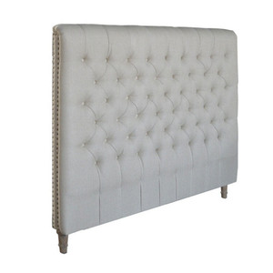 Marquis Upholstered Double Headboard (Natural Linen)