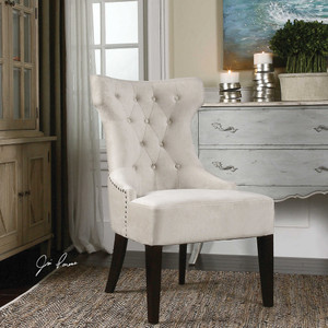 Arlette Wing Chair by Uttermost