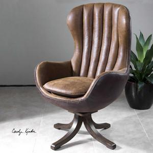 Garrett Swivel Chair by Uttermost