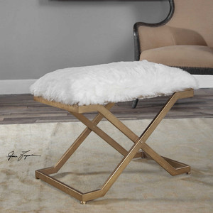Farran Small Bench by Uttermost