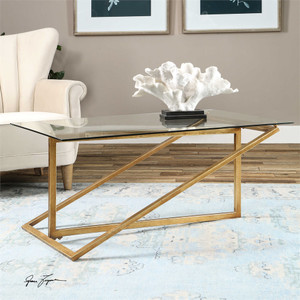 Zerrin Coffee Table - by Uttermost