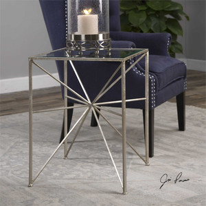 Silvana Side Table - by Uttermost