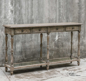 Fortuo Console Table - by Uttermost