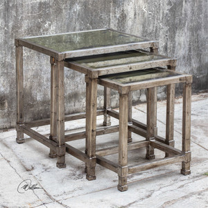 Keanna Nesting Tables S/3 - by Uttermost
