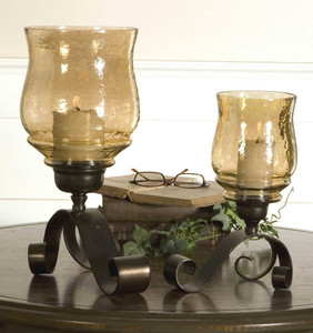 Joselyn Candleholders S/2 by Uttermost