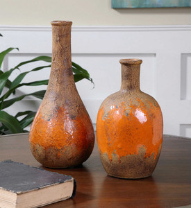 Kadam Vases S/2 by Uttermost