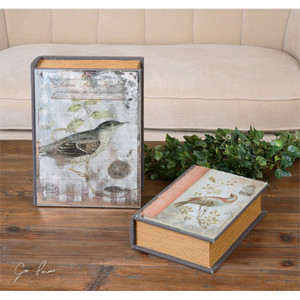 Candan Boxes - Set of 2 by Uttermost