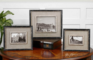 Kalidas Photo Frames S/3 by Uttermost