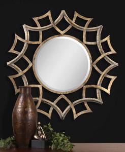 Demarco Round Mirror by Uttermost