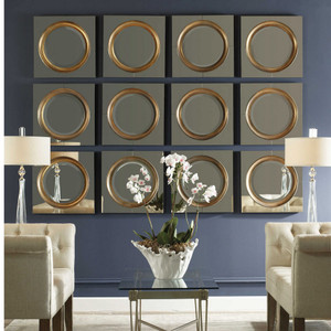 Gouveia Square Mirror by Uttermost