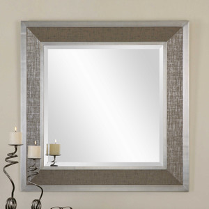 Naevius Square Mirror by Uttermost