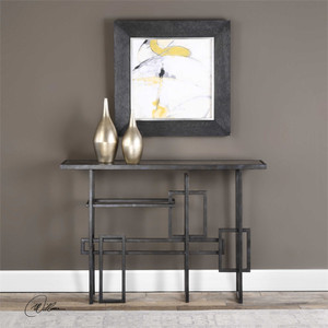 Dane Console Table - by Uttermost