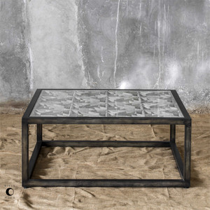 Baruti Coffee Table - by Uttermost