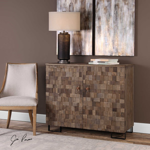 Twain Accent Cabinet by Uttermost