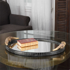 Alligator Tray by Uttermost