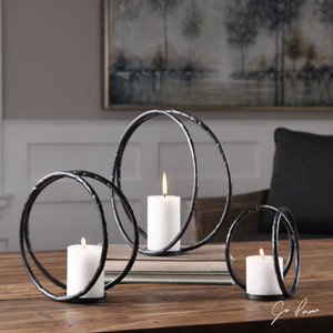 Pina Candleholders S/3 by Uttermost