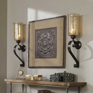 Joselyn Candle Sconce by Uttermost