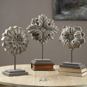 Alarik Sculpture S/3 by Uttermost