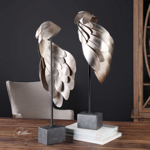 Angel Wings Sculpture S/2 by Uttermost