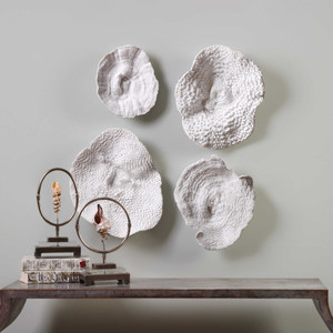 Sea Coral Wall Decor S/4 by Uttermost