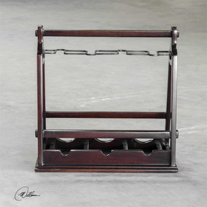Ossana Wine Holder - by Uttermost