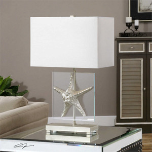 Silver Starfish Table Lamp by Uttermost