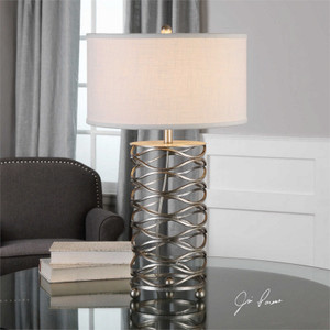Serpentine Table Lamp by Uttermost