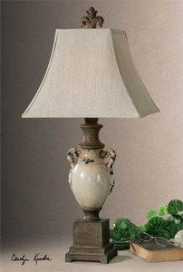 Francavilla Ivory Table Lamp - by Uttermost