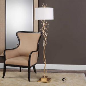 Bede Floor Lamp by Uttermost