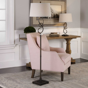 Tenley Floor Lamp by Uttermost