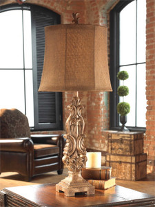 Gia Buffet Lamp by Uttermost