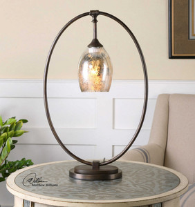 Lemeta Accent Lamp by Uttermost