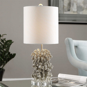Silver Coral Buffet Lamp by Uttermost