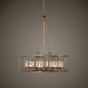 Ghiaccio 8 Lt. Pendant by Uttermost