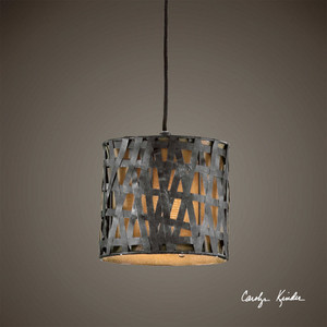 Alita 1 Lt Mini Pendant by Uttermost