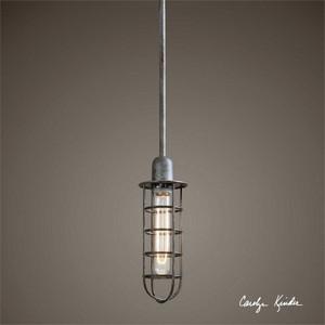 Bearinger 1-Lamp Mini Ceiling Pendant Light by Uttermost