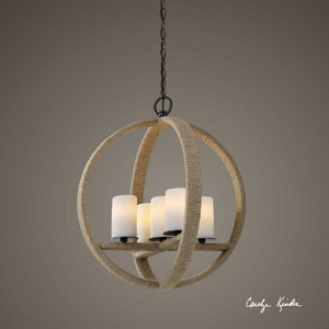 Gironico Round 5 Lt Pendant by Uttermost