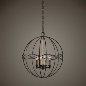Onduler 4 Lt. Pendant by Uttermost