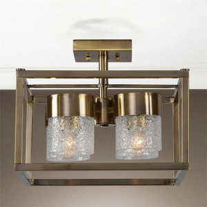 Marinot 4-Lamp Semi Flush Mount Light by Uttermost