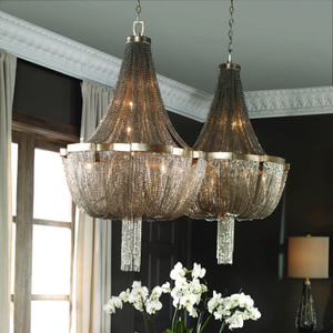 Cascata 7 Lt. Chandelier by Uttermost