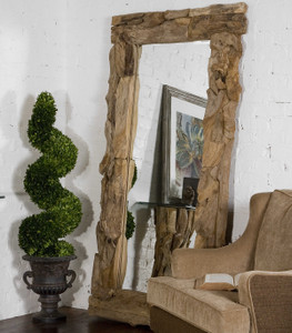 Teak Root Natural Mirror by Uttermost