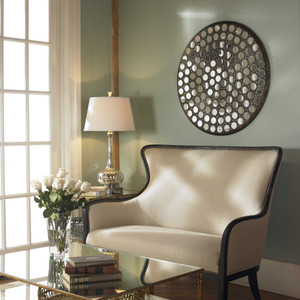 Ramses Mirrored Wall Decor by Uttermost