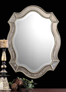 Felicie Oval Mirror by Uttermost