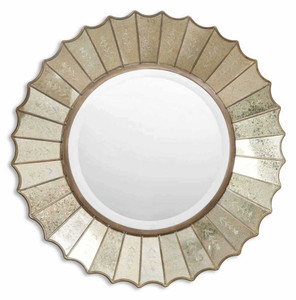 Amberlyn Round Mirror by Uttermost